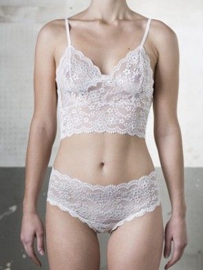 BRALETTE IN LACE BRIDAL COLLECTION